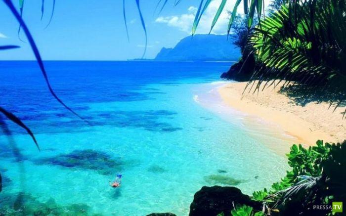 Самые красивые пляжи мира 32 фото