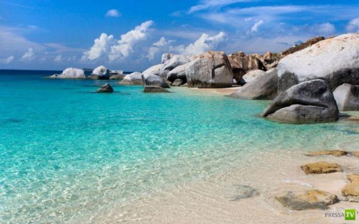Самые красивые пляжи мира (32 фото)