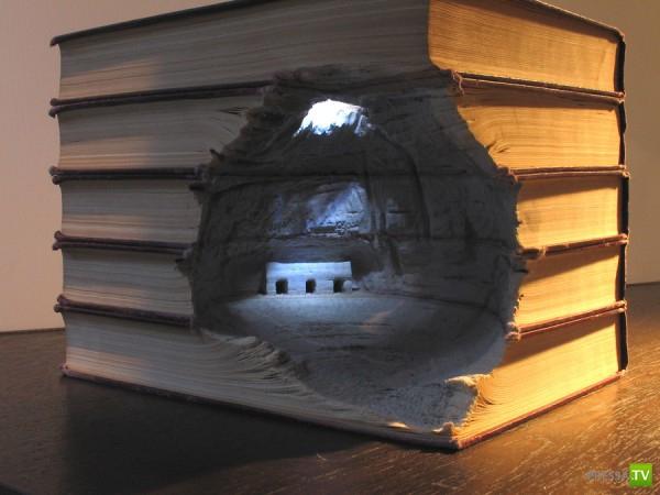 Искусство из старых книг