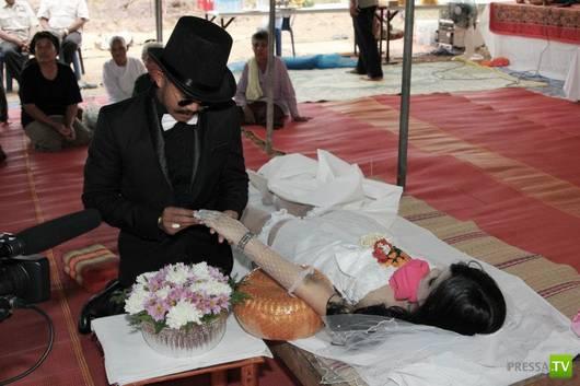 Фото похороны в свадебном платье