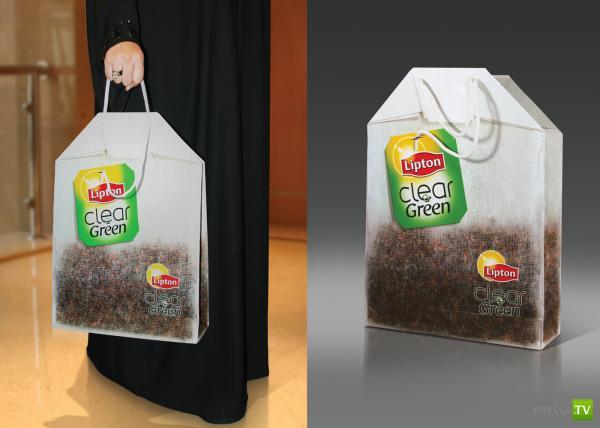 Креативные идеи для пакетов... Пакет – ходячий постер, делающий человека рекламоносителем