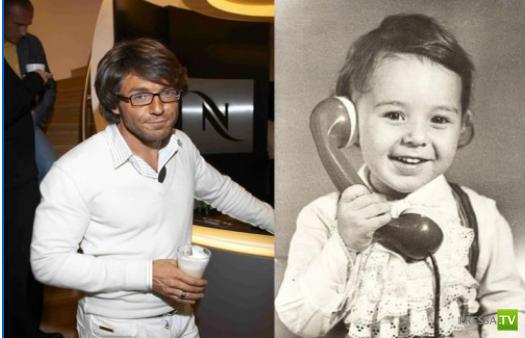 Российские знаменитости в детстве и