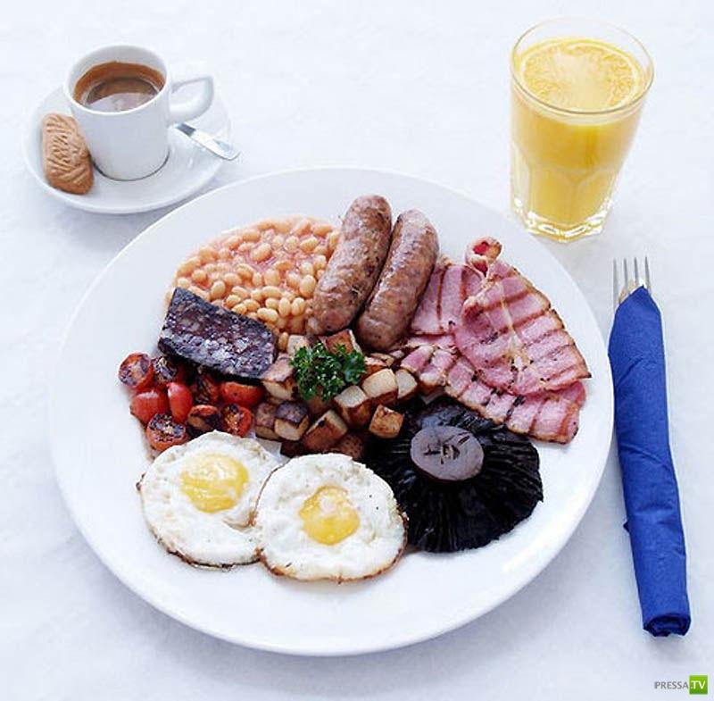 Завтраки в разных странах мираы