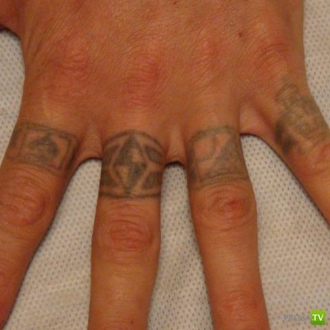 Значение татуировки имя на пальцах