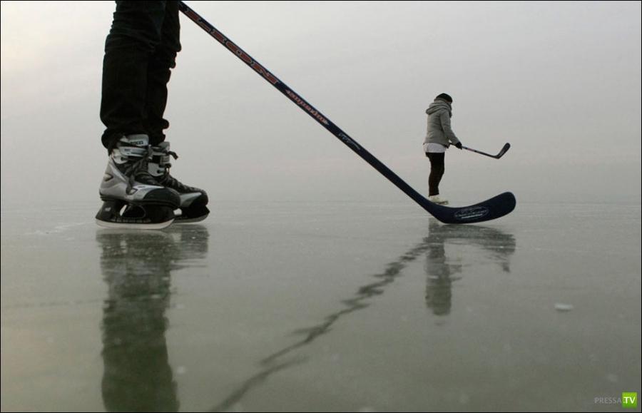Фото-прогулка по замерзшей Европе