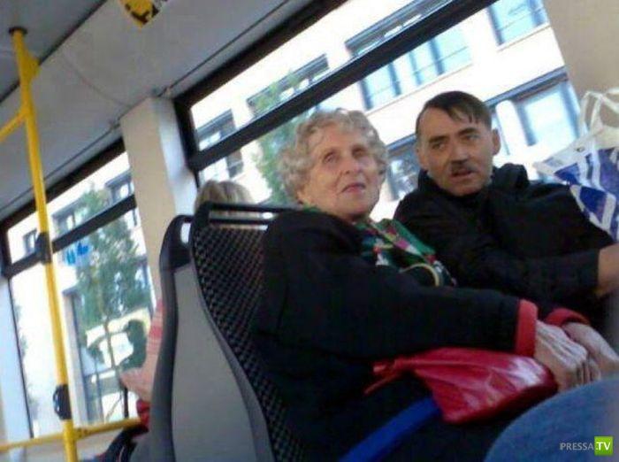 Однажды в автобусе (24 фото)