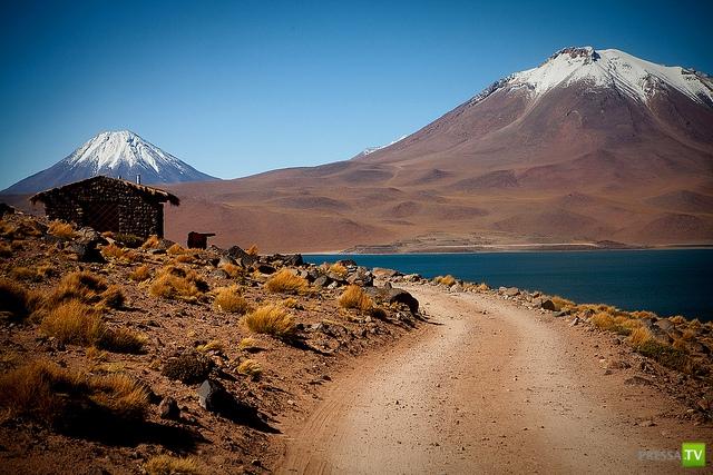 Плато Альтиплано и вулканы