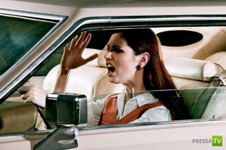 Хамство на дорогах: где живут, на чем ездят и кто они... (7 фото)