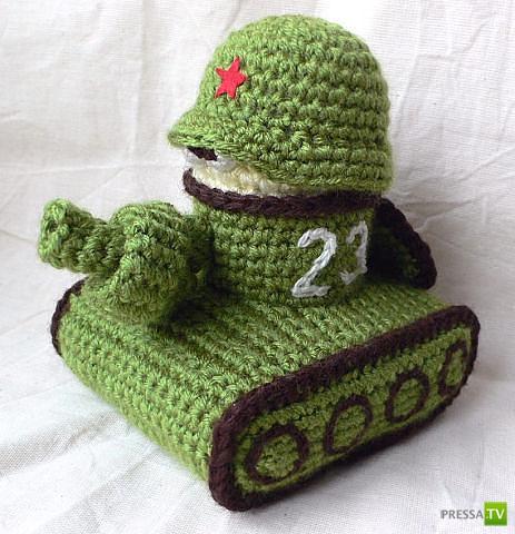 Игрушка на тему война своими руками