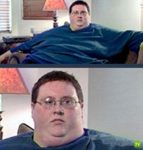 Дэвид Смит похудел на 186 кг... (10 фото)