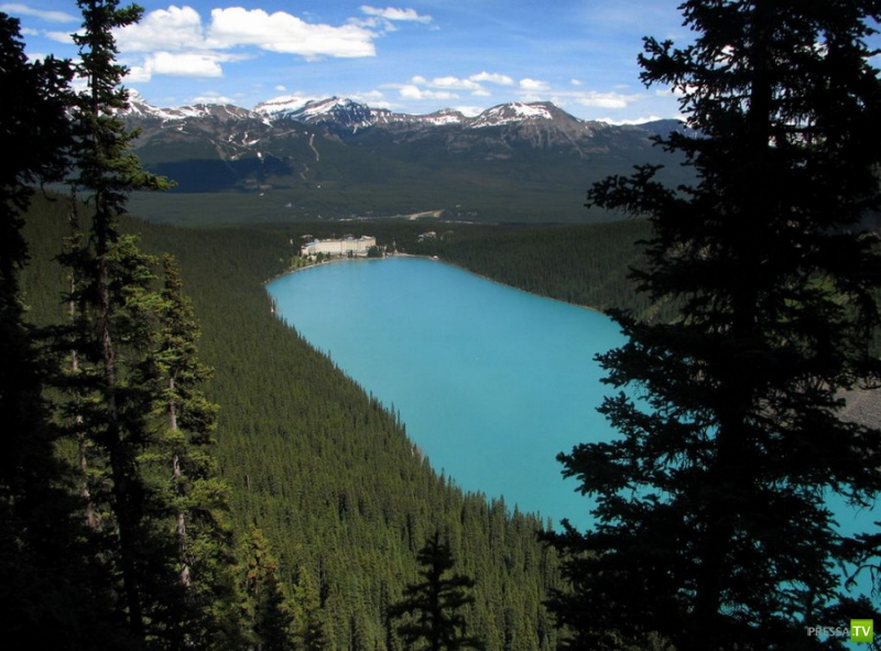 Красивое озеро Луиза (Lake Louise) (30 фото)