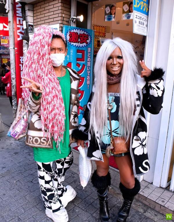 Японские модники (13 фото)