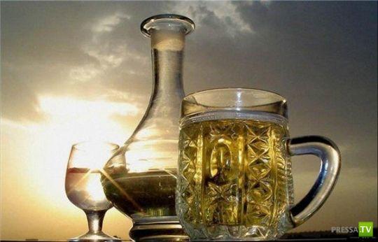 Самые распространенные мифы об алкоголе... (6 фото)