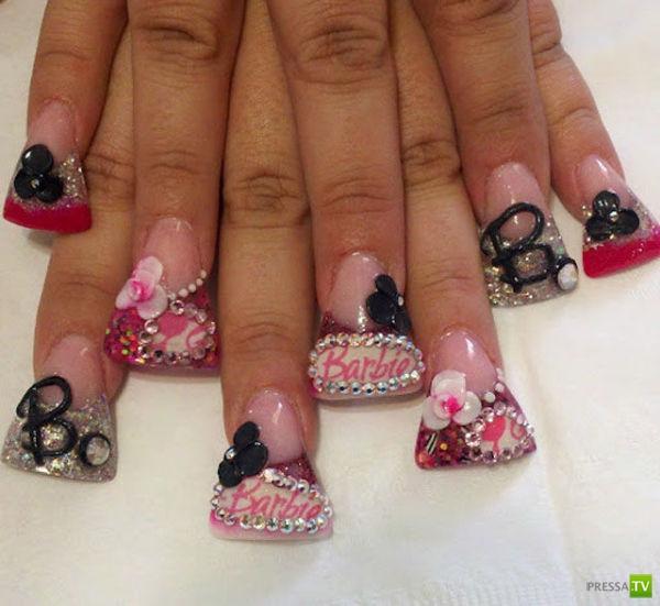 Картинки модного дизайна ногтей