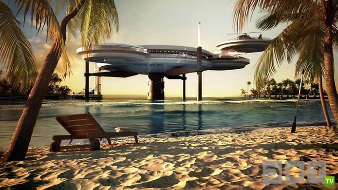 Уникальный подводный отель в Дубае ... (10 фото)