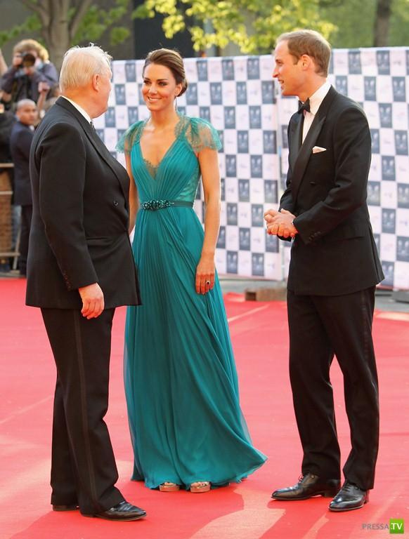 Кейт Миддлтон и принц Уильям на Олимпийском гала-вечере в Лондоне (17 фото