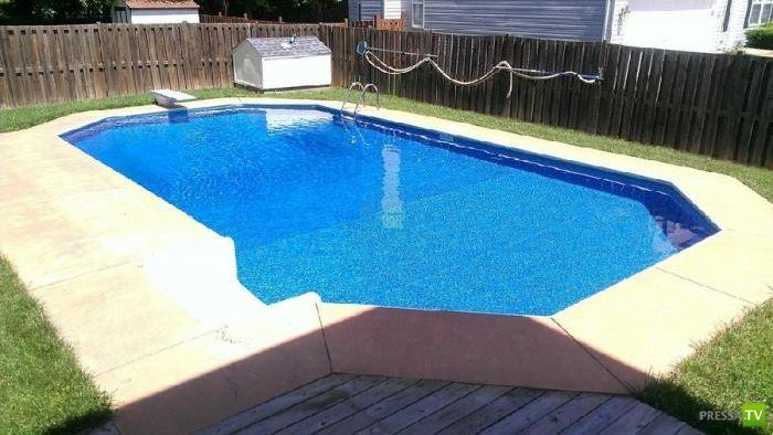 Как дома сделать бассейн