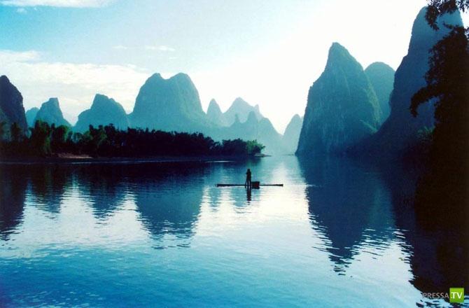 Живописная и чистая Ли - жемчужина Китая (16 фото)