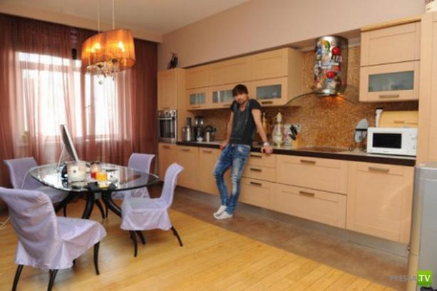 Московская квартира Димы Билана (4 фото)