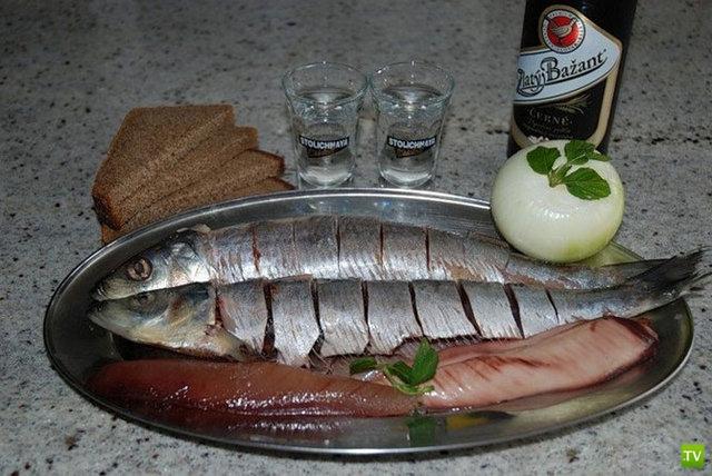 Традиционные русские закуски (16 фото)