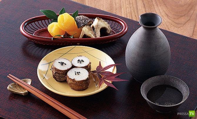 Что едят гейши? (7 фото)