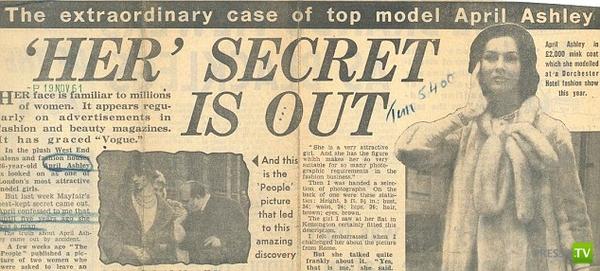 Самый первый британец, сменивший пол при помощи хирургов (4 фото)