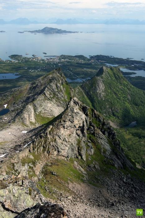 Заполярный рай - Лофотенские острова (24 фото)