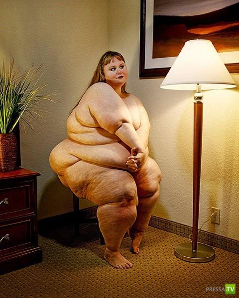 фото самых толстых голых баб