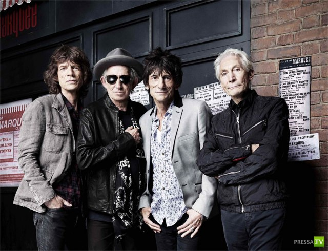 50-летие The Rolling Stones (6 фото + 2 видео)
