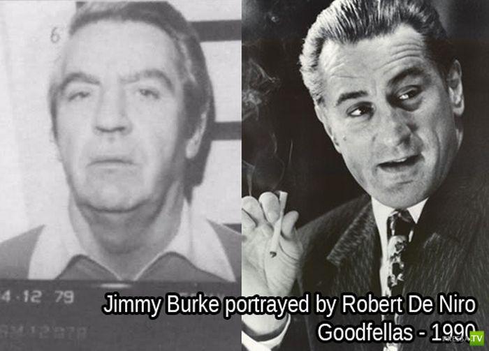 Кто играл в кино знаменитых преступников (20 фото)