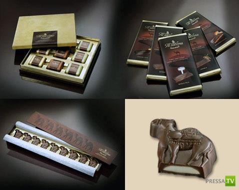 Шоколад для гурманов и диабетиков на верблюжьем молоке