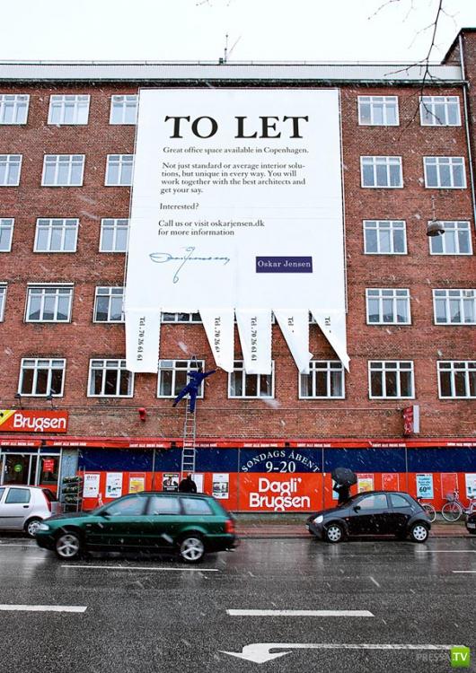 Креативная уличная реклама (30 фото)