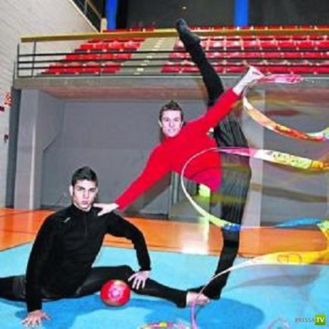 Что хуже - женский бодибилдинг или мужская художественная гимнастика (18 фото)