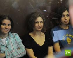 РПЦ призвала власти проявить милосердие к Pussy Riot