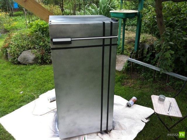 Как внук преобразил холодильник (18 фото)