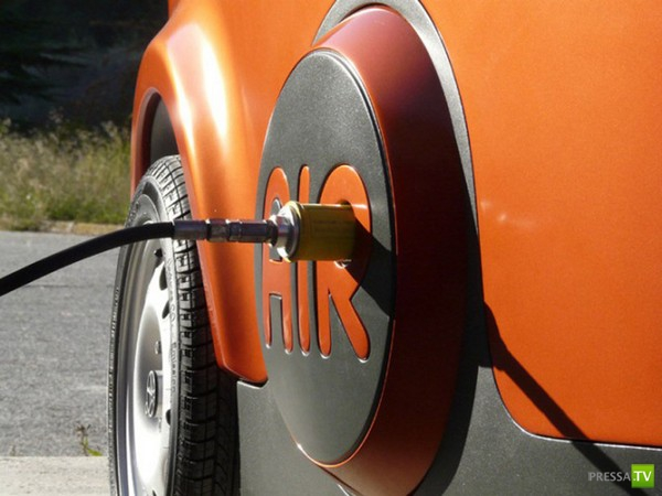 AirPod – революционный автомобиль с пневматическим двигателем (5 фото + видео)