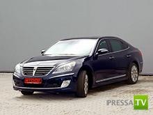 Первый бронированный Hyundai представлен на Московском автосалоне