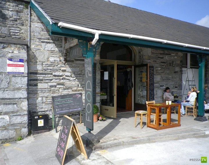 Необычный ресторан в Ирландии...