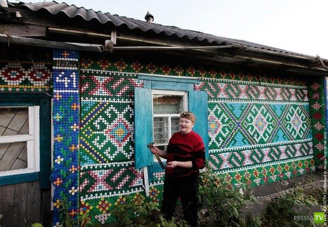 Необычное украшение дома (5 фото)