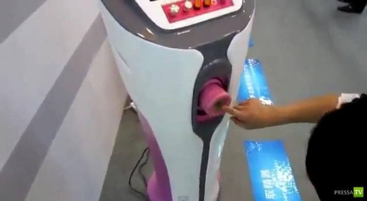 Китайское изобретение - автоматический сборщик спермы (4 фото + видео)