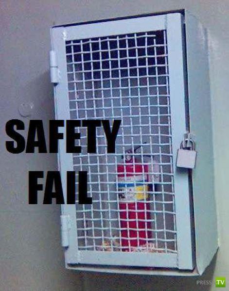 Люди, которые пренебрегают техникой безопасности (40 фото)