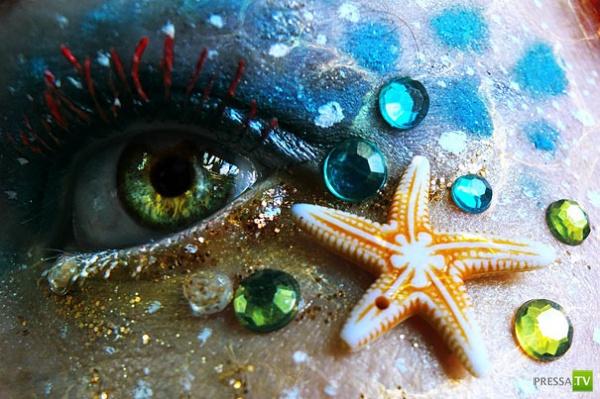 Креативный макияж от Svenja Schmitt из Берлина (17 фото)