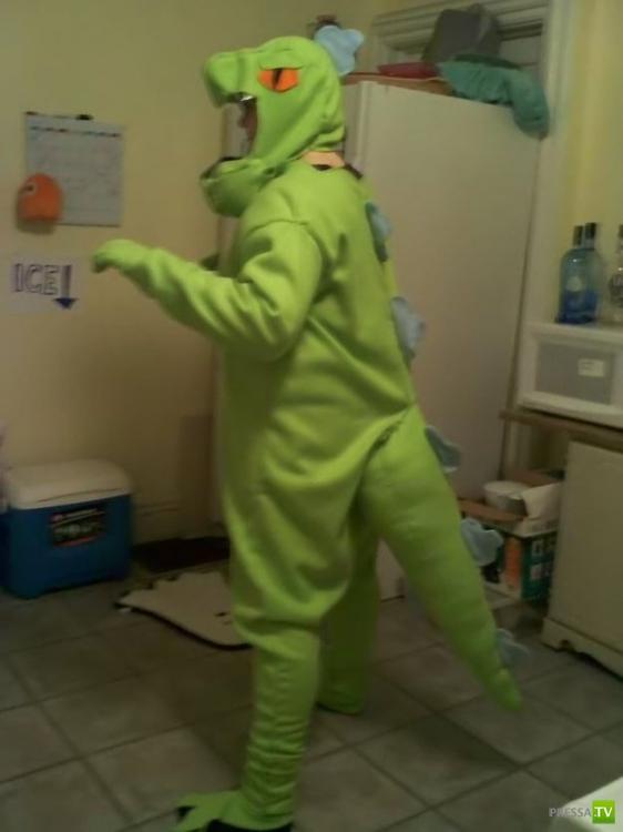 Одеваемся на  Хэллоуин - прикольные костюмы (19 фото)