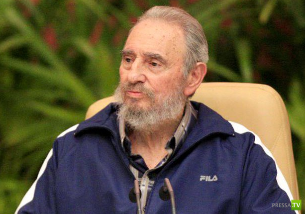 У Экс-Президента Кубы Фиделя Кастро  произошло кровоизлияние в мозг...