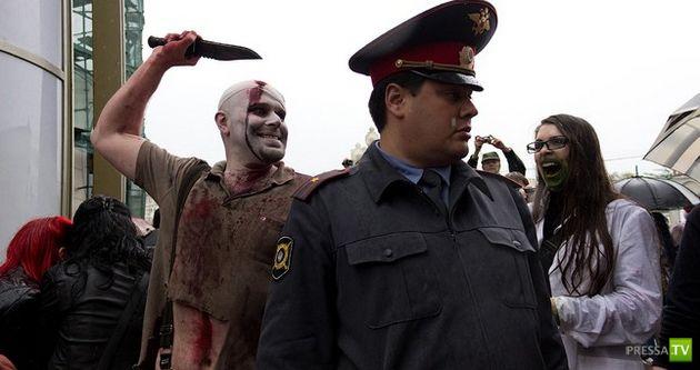 Лучшие Зомби-парады мира (20 фото + 9 видео)