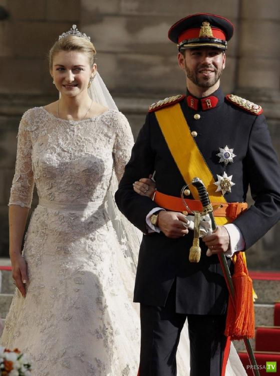 Наследный Великий Герцог Люксембурга – принц Гийом в прошлые выходные женился на графине Стефании де Ланнуа (26 фото)