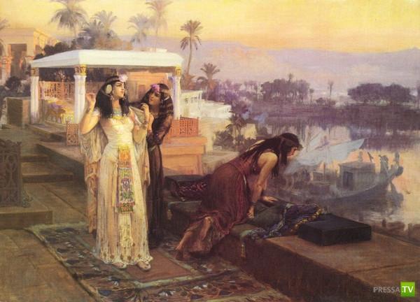 Клеопатра - совершенная обольстительница (9 фото)