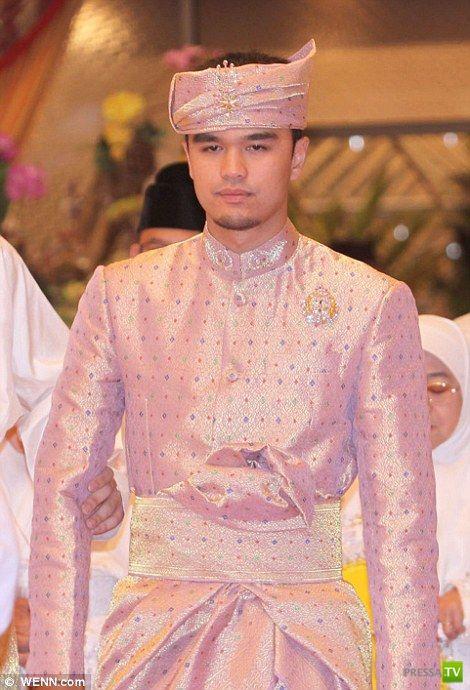 Дочь Султана Брунея вышла замуж (13 фото)