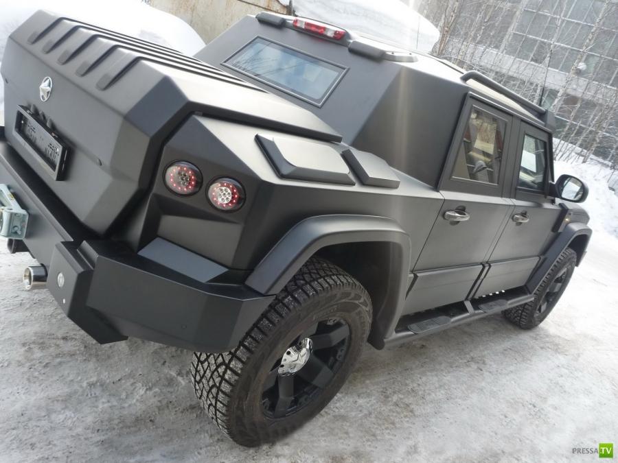 """Российский бронеавтомобиль Т-98 """"Комбат"""" (9 фото)"""