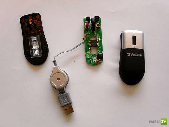 Как сделать компьютерную мышь своими руками